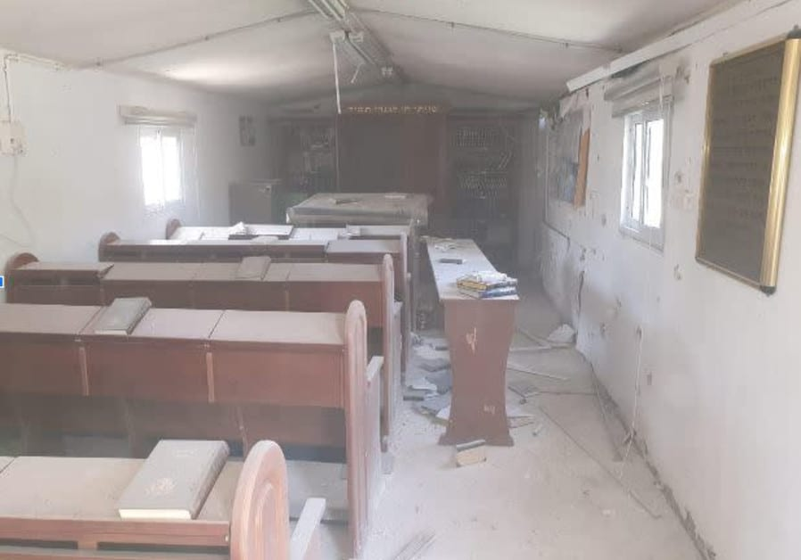Memory, Loss and Rebuilding after Rockets Destroy an IDF Synagogue