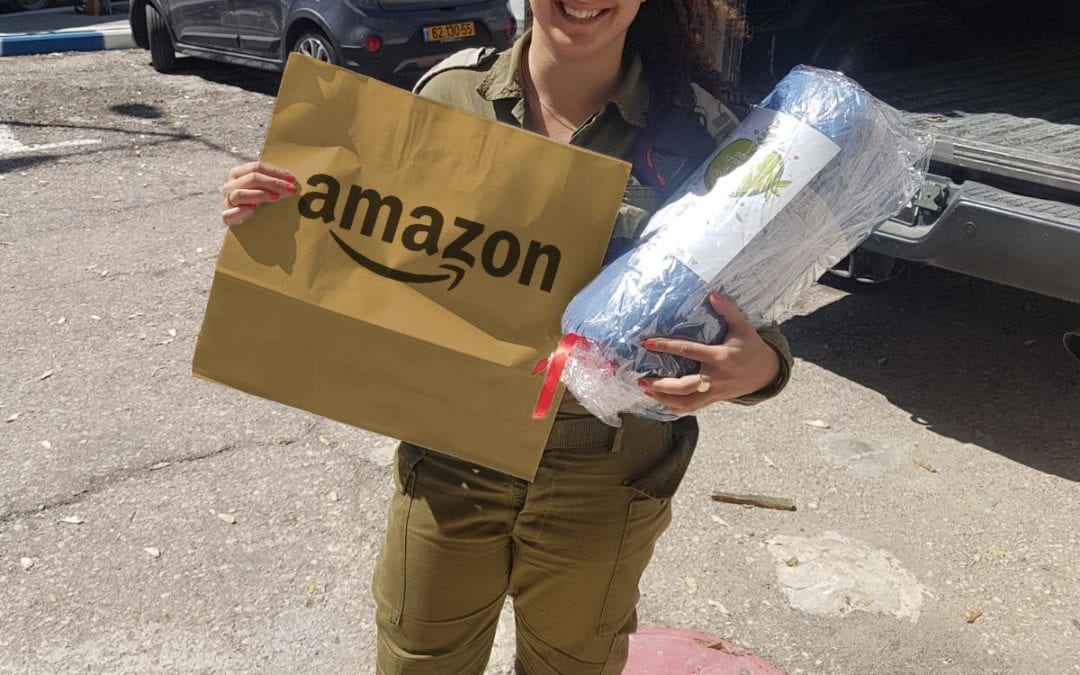 Free Shipping with Amazon to an Israeli Soldier