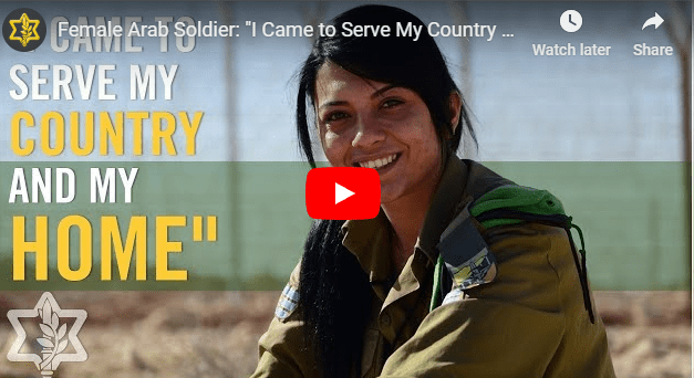 """[VIDEO] Female Christian Soldier: """"I Came To Serve My Country And My Home"""""""