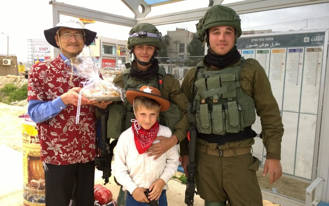 With Candy and Gifts, LIBI USA Uplifts IDF Soldiers on Purim