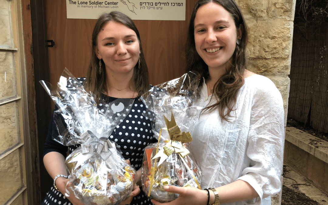 Modern Day Esthers: Lone Soldiers Receive Purim Gifts from LIBI