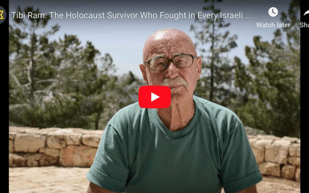 Tibi Ram: The Holocaust Survivor Who Fought in Every Israeli War