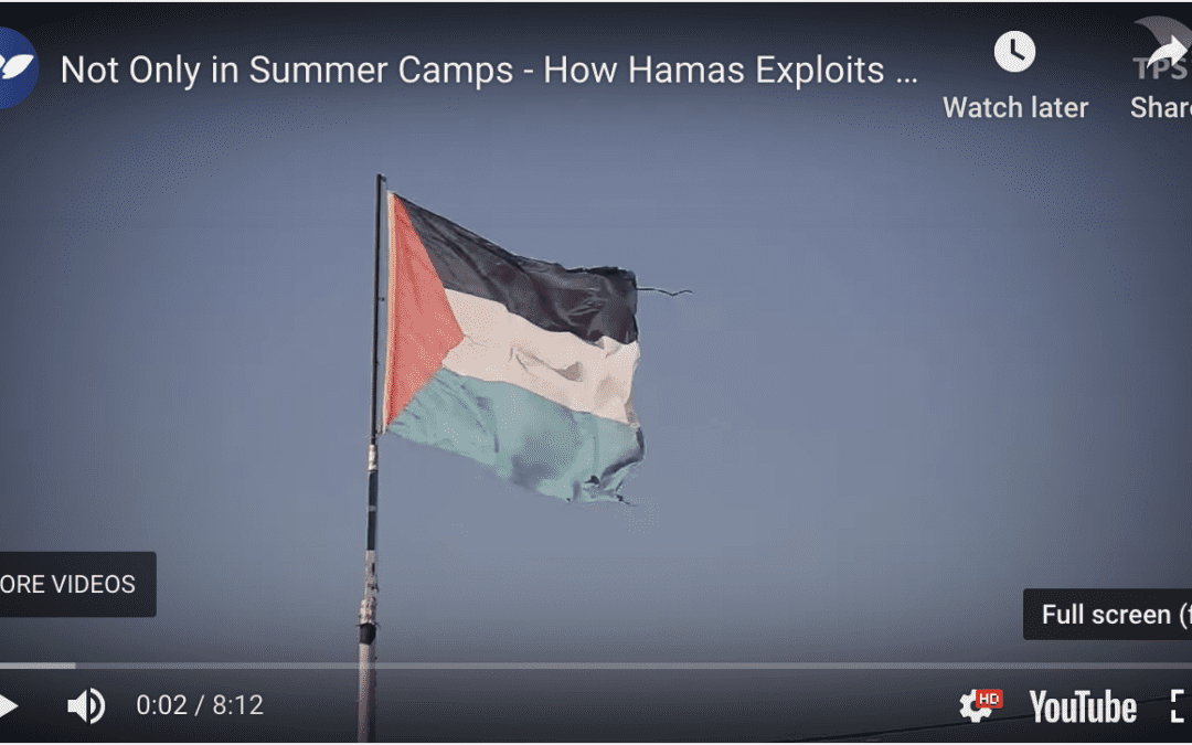 IDF Explains How Hamas Exploits Children During the Riots on the Gaza Border