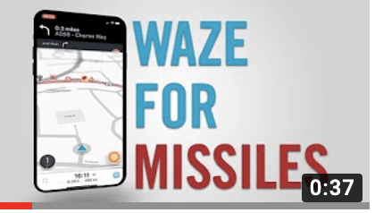 [WATCH] A Missile with Waze?