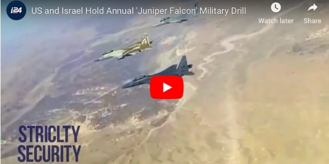 [WATCH] US and Israel Hold Annual 'Juniper Falcon' Military Drill
