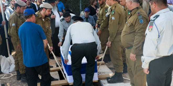 Lone Israeli Soldier Laid to Rest Among Throngs of Mourners, Heartbreak and Praise