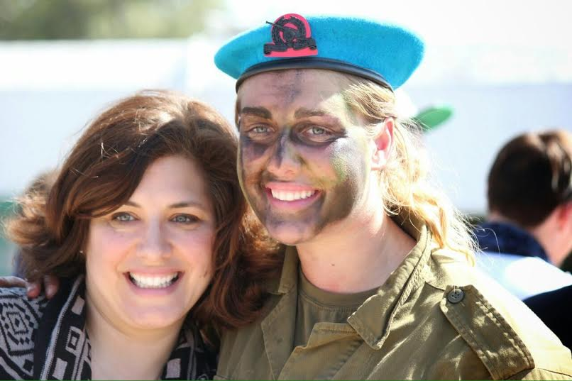 Hadrielle with her mother at her beret ceremony. (Photo: Courtesy)