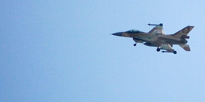 Israel Strikes Hamas Terror Targets in the Southern Gaza Strip