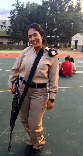IDF Lone Soldier Karin Meron (Photo: Courtesy)
