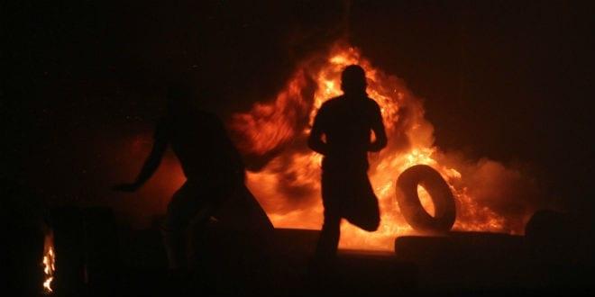 Arabs Hurl Firebombs, Burn Tires as Jews Pray at Joseph's Tomb