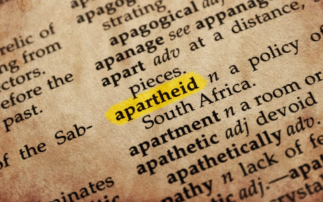 Which Countries are Apartheid States?
