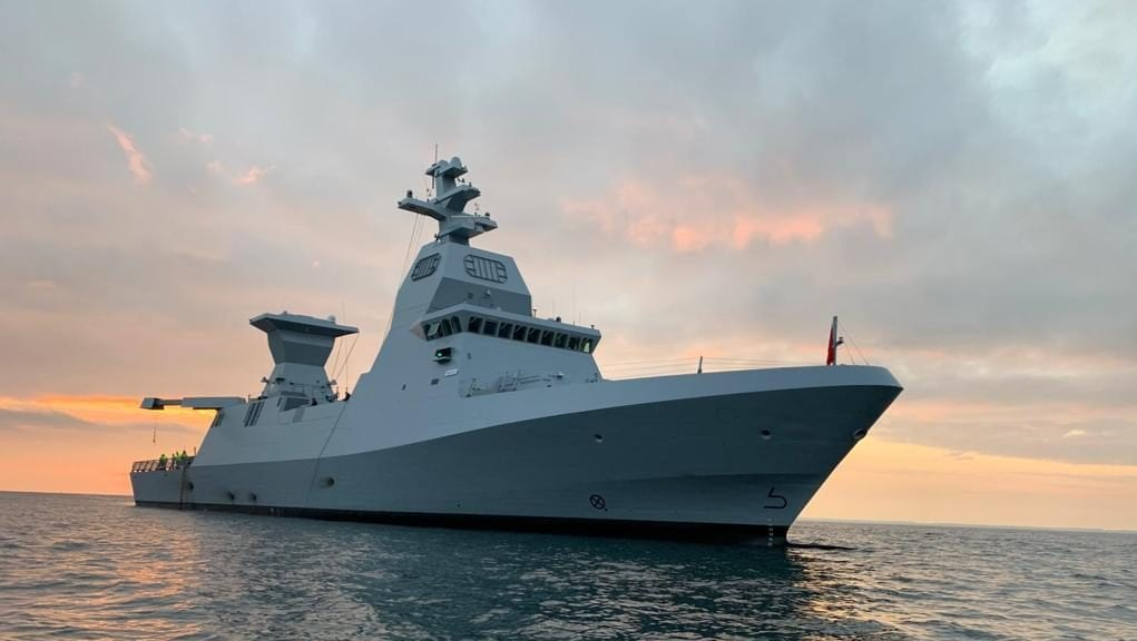 Israel's New Missile Cruiser Is Setting Sail