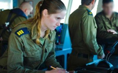 Sa'ar 6 Missile Cruiser's Captain Making Big Waves