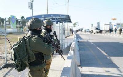Terrorist Attack Thwarted In Gush Etzion