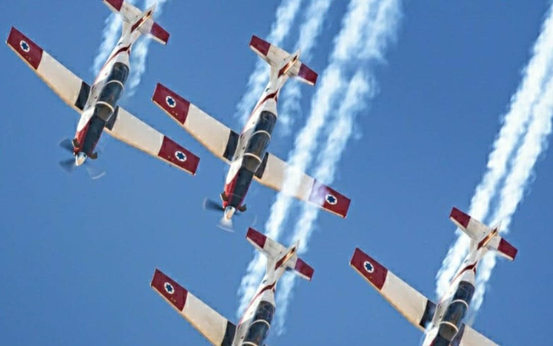 IAF Plans Aerial Acrobatics Show Ahead of 73rd Independence Day
