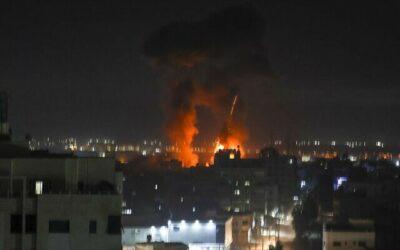 IDF responds to arson attacks from Gaza