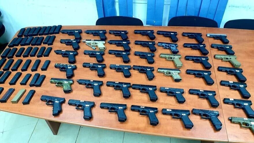 Israeli Forces Thwart Illegal Arms Shipment From Lebanon
