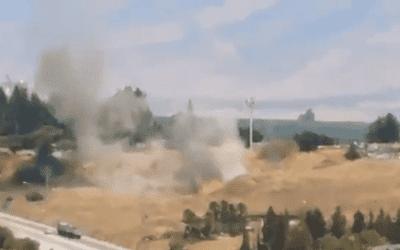 IDF Retaliates Against Lebanese Missiles
